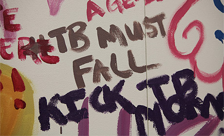 TB Must Fall - Mural in Cape Town. Credit: TB Alliance.