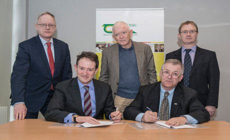Teagas and Irish Aid sign historical agricultural development agreement