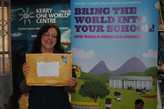 First project received for the Our World Irish Aid Awards 2013