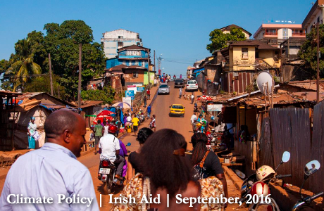 Freetown Streetscene, Sierra Leone. Photo: Irish Aid